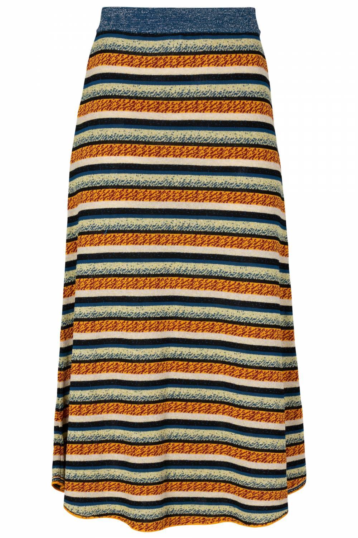 Falda stripes blue