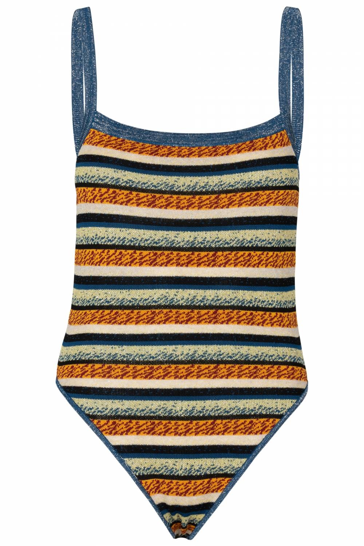 Body stripes blue